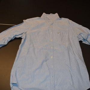 Large Tall American Eagle Dress Shirt